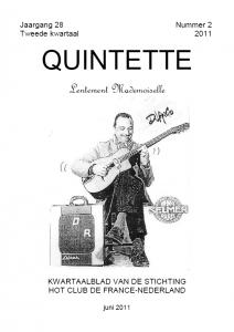 Quintette 2011 tweede kwartaal, jaargang 28 nr 2