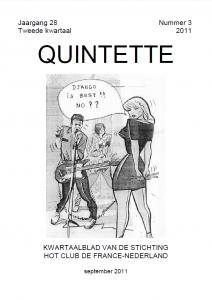 Quintette 2011 derde kwartaal, jaargang 28 nr 3