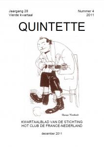 Quintette 2011 vierde kwartaal, jaargang 28 nr 4