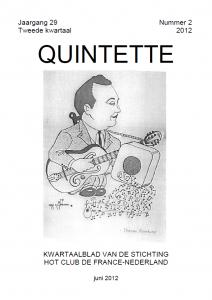 Quintette 2012 tweede kwartaal, jaargang 29 nr 2