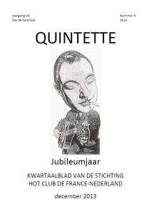 Quintette 2013 vierde kwartaal, jaargang 30 nr 4