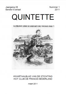 Quintette 2011 eerste kwartaal, jaargang 28 nr 1