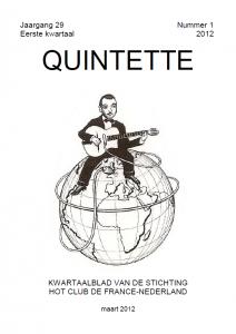 Quintette 2012 eerste kwartaal, jaargang 29 nr 1