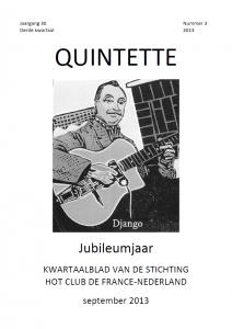 Quintette 2013 derde kwartaal, jaargang 30 nr 3